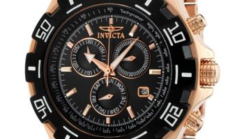 6f8fd7190 Invicta Men's Specialty Chronograph Two-Tone Bracelet Black Dial - Watch  1221, #Invicta